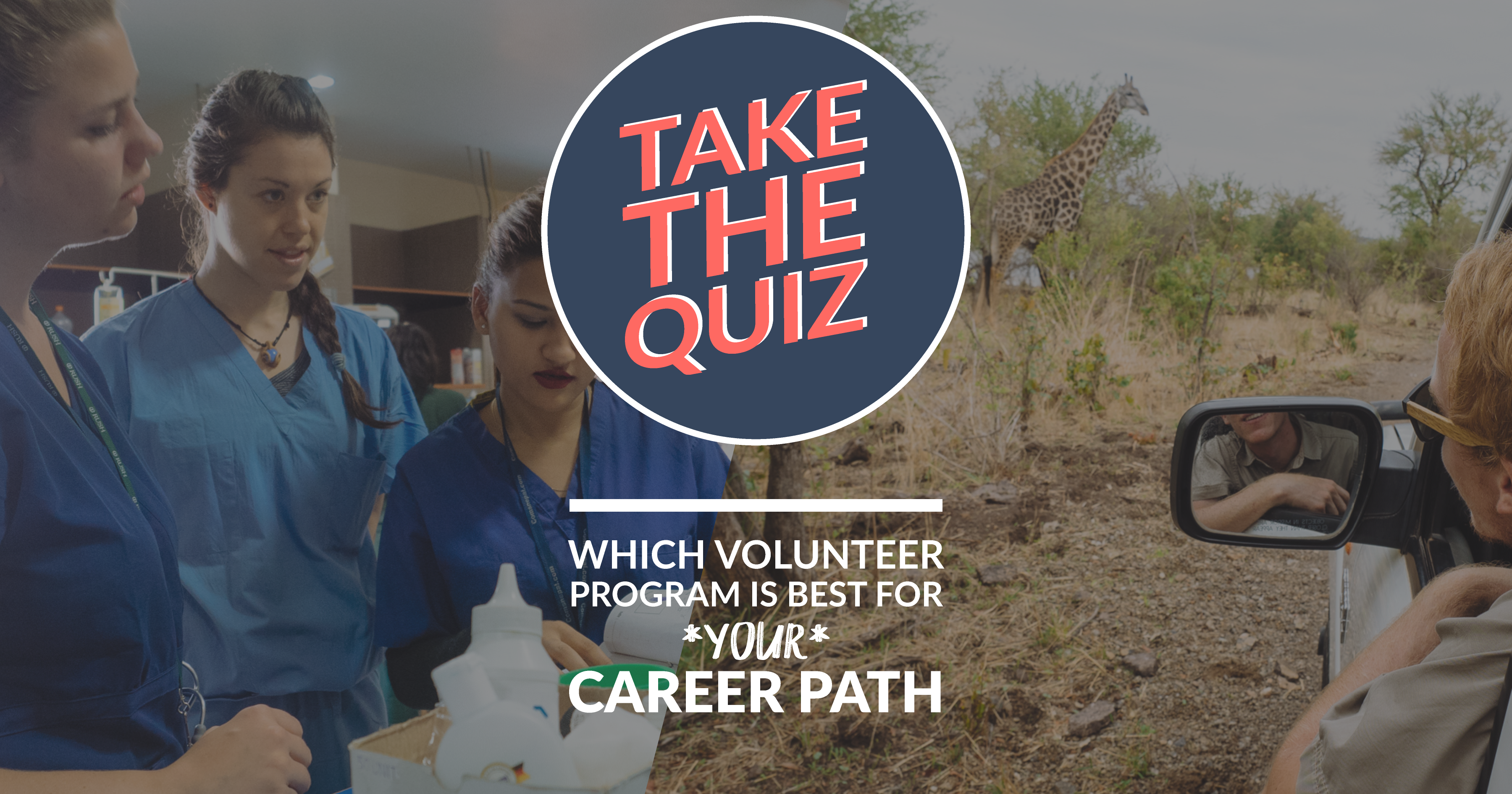 QUIZ: Which Volunteer Program Is Best For Your Career Path?
